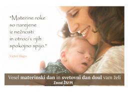 materinski dan 2016