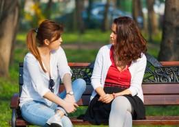 Pogovor s prijateljico